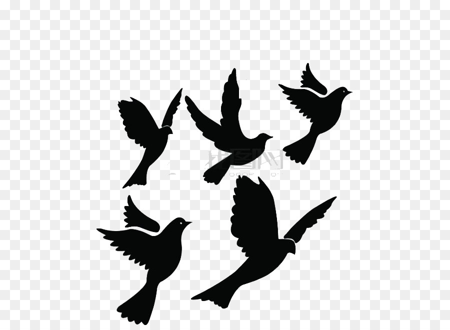 Graphic Royalty Free Library Flying Quail Silhouette Bird.