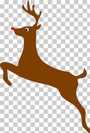 27 flying reindeer PNG cliparts for free download.