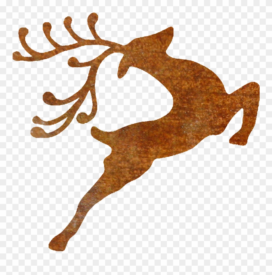 Thick Rusty Jumping Reindeer.