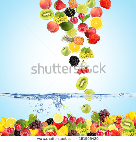 Fruit Mix Stock Photos, Royalty.