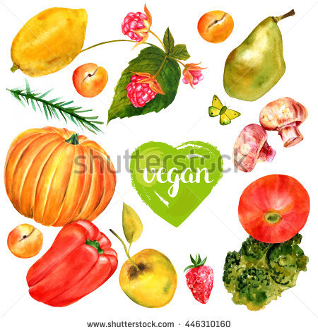 Flying Fruit And Vegetables Stock Photos, Royalty.