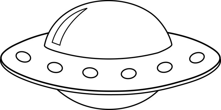 Clipart flying saucer.
