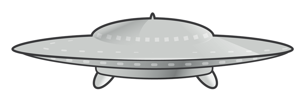 Free to Use & Public Domain Flying Saucer Clip Art.