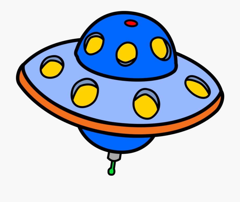 Free To Use &, Public Domain Flying Saucer Clip Art.