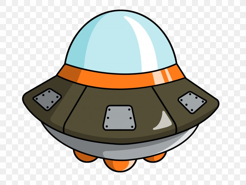 Flying Saucer Cartoon Spacecraft Unidentified Flying Object.