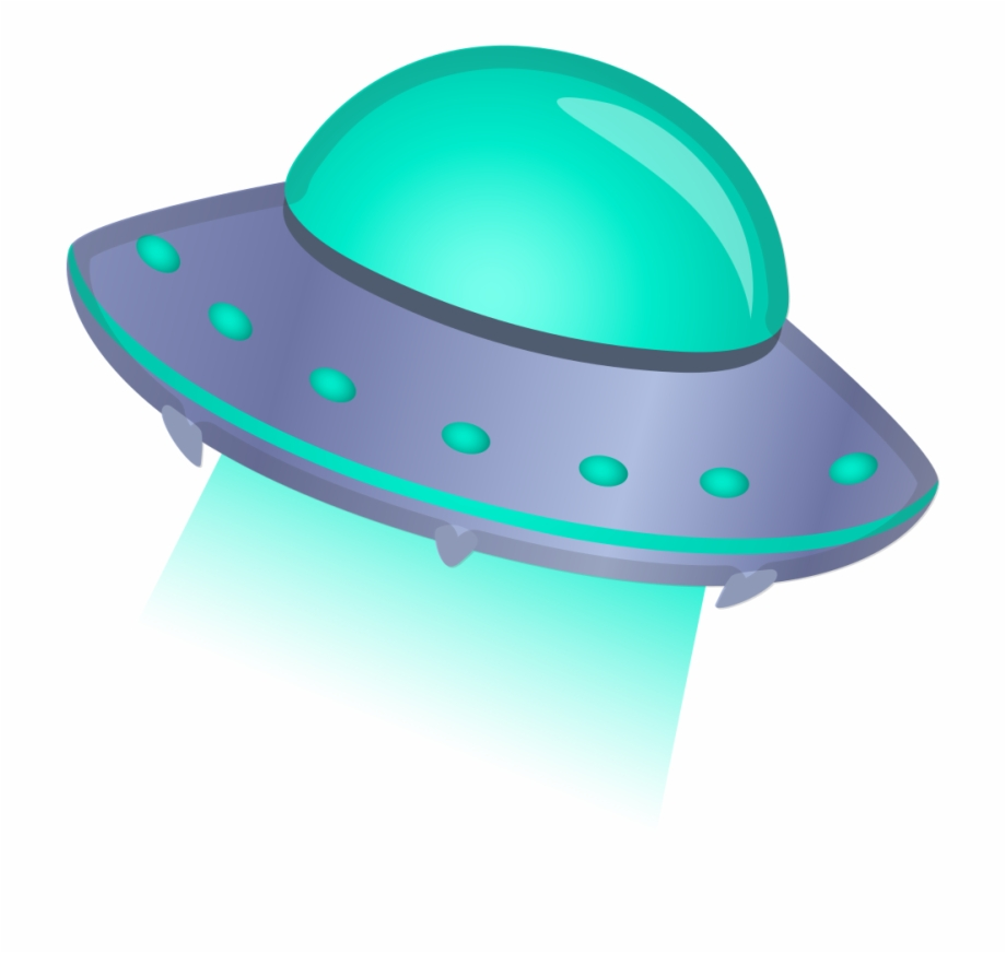 Flying Saucer Icon.