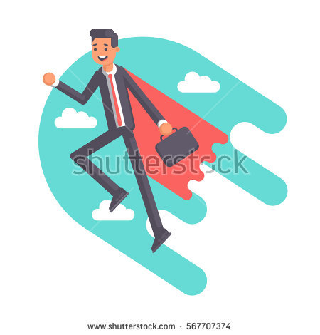 Flying Cape Stock Photos, Royalty.