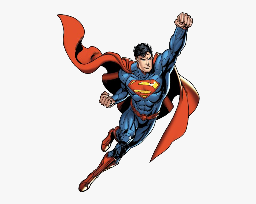 Superman Flying Png Image Background.