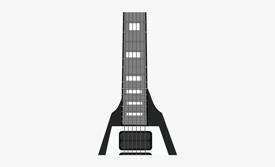 Bass Guitar Clipart Rock And Roll Guitar.