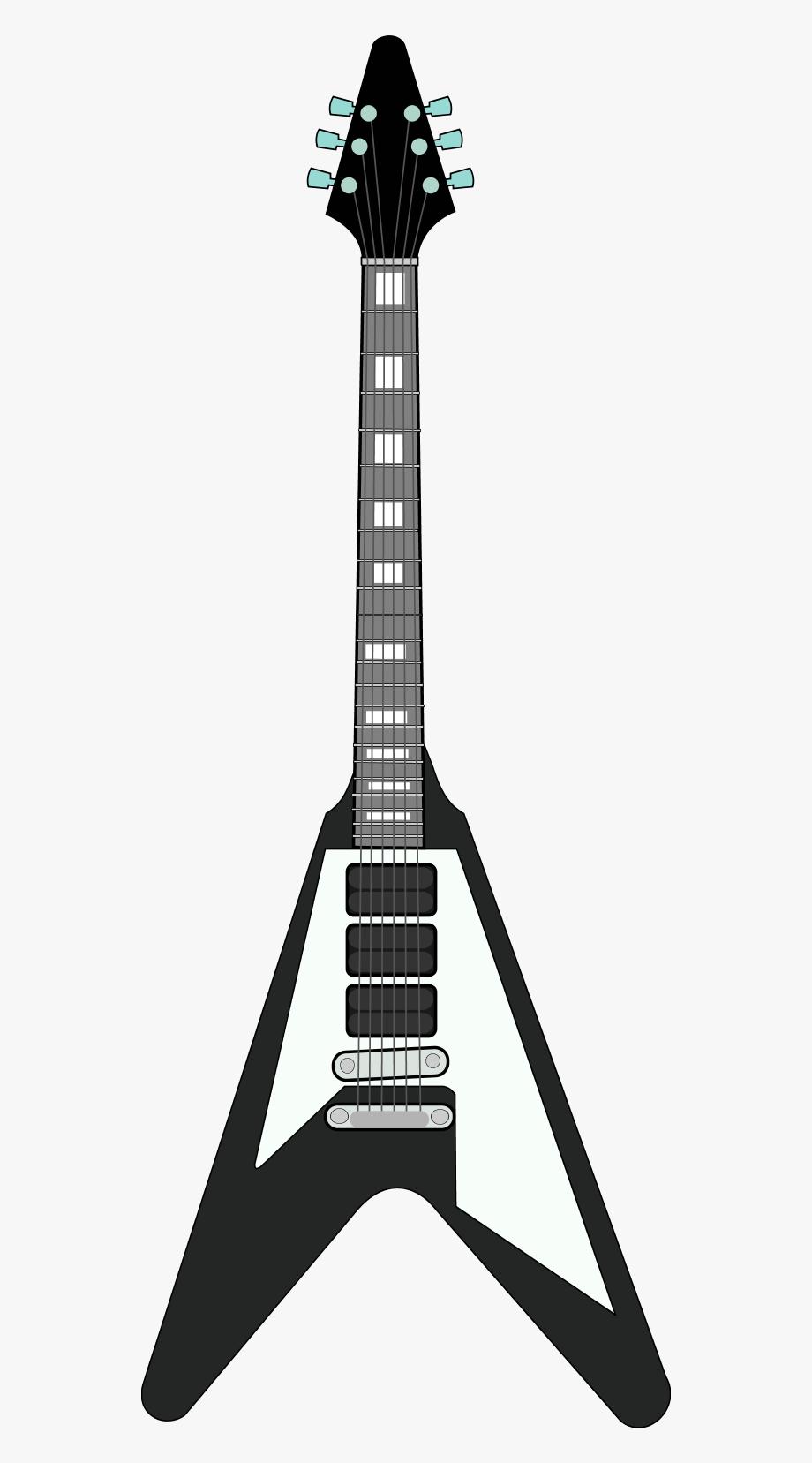 Guitar Black And White Black And White Guitar Clipart.