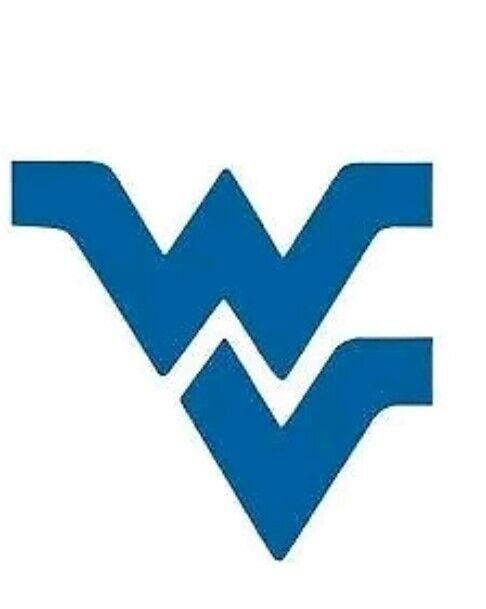 WVU Flying WV Vinyl Decal Stickers West Virginia Mountaineers Car Truck  Laptop.