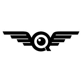 FlyQuest Logo Stencil.