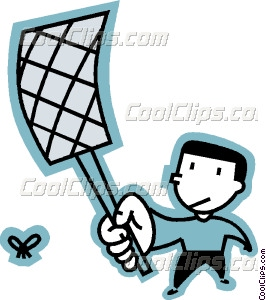 Fly Swatter Vector Clip art.