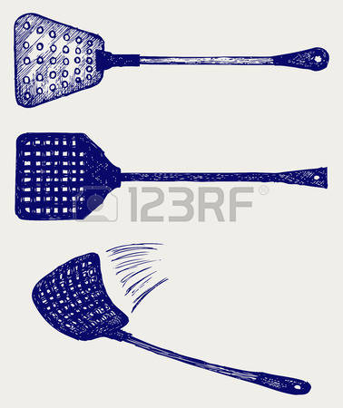 119 Fly Swatter Stock Vector Illustration And Royalty Free Fly.