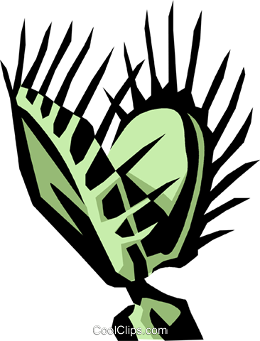plant, Venus flytrap Royalty Free Vector Clip Art illustration.