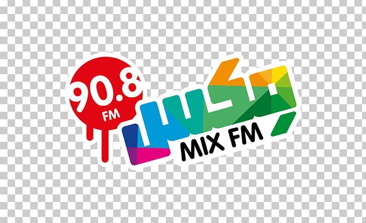 MixFM Logo FM Broadcasting Mix FM PNG, Clipart, Area, Brand.