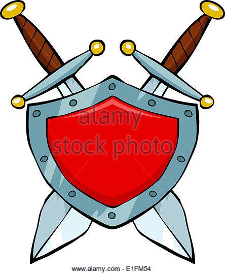 Shield Sword Cartoon Stock Photos & Shield Sword Cartoon Stock.