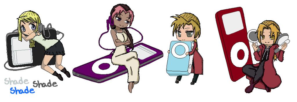 FMA Characters by LendgendOfKorraFan on DeviantArt.