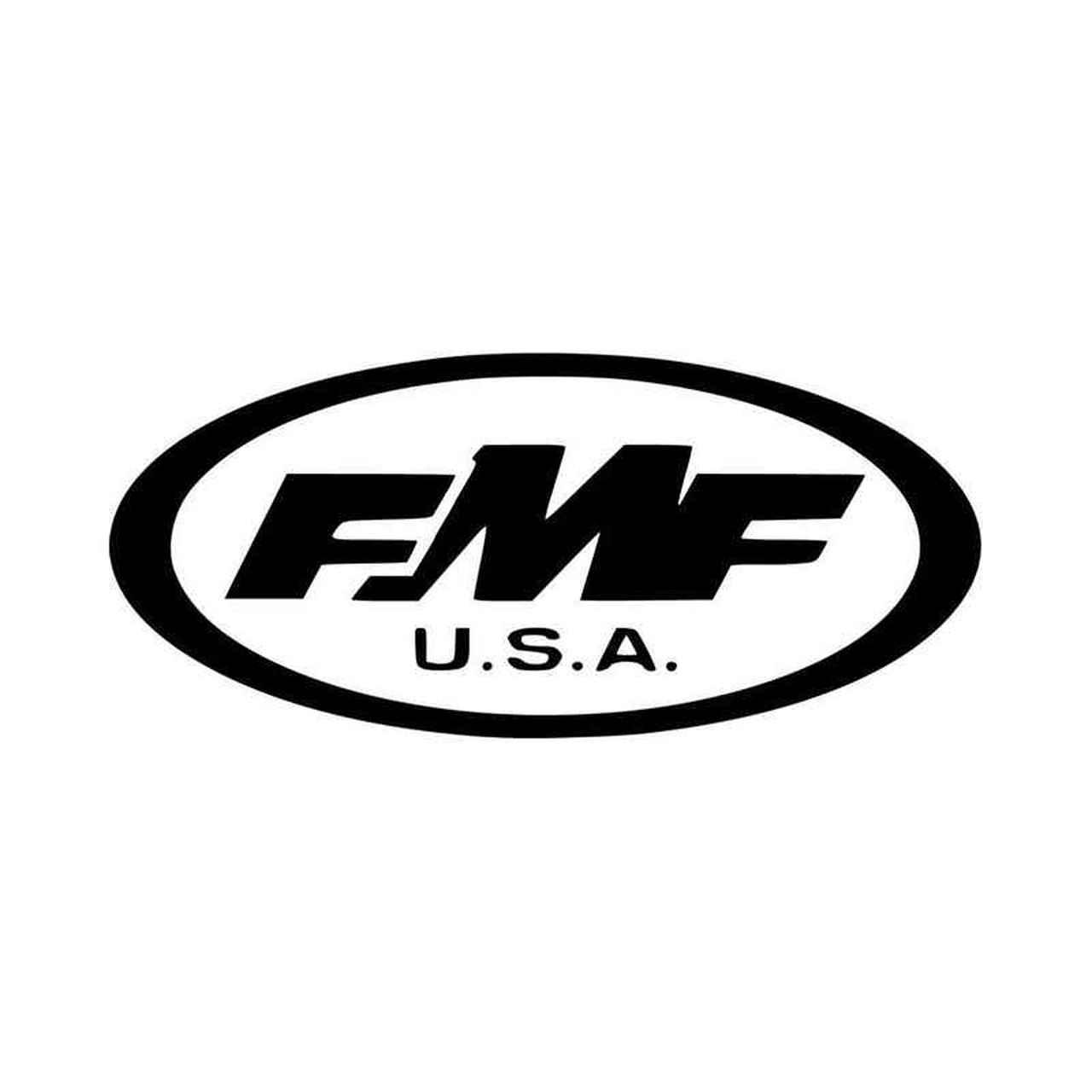 Fmf Logo Car Vinyl Decal Sticker.