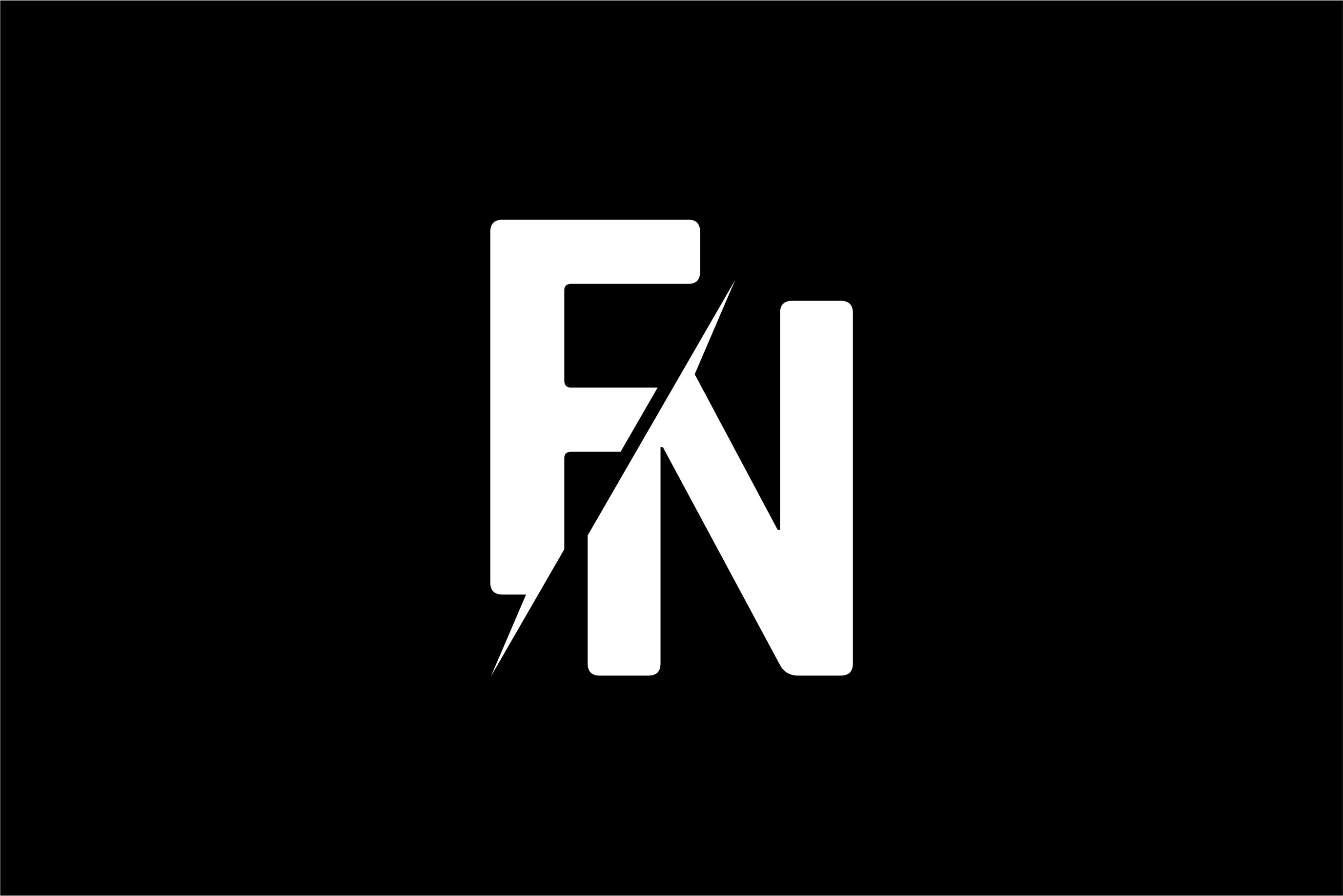 Monogram FN Logo.