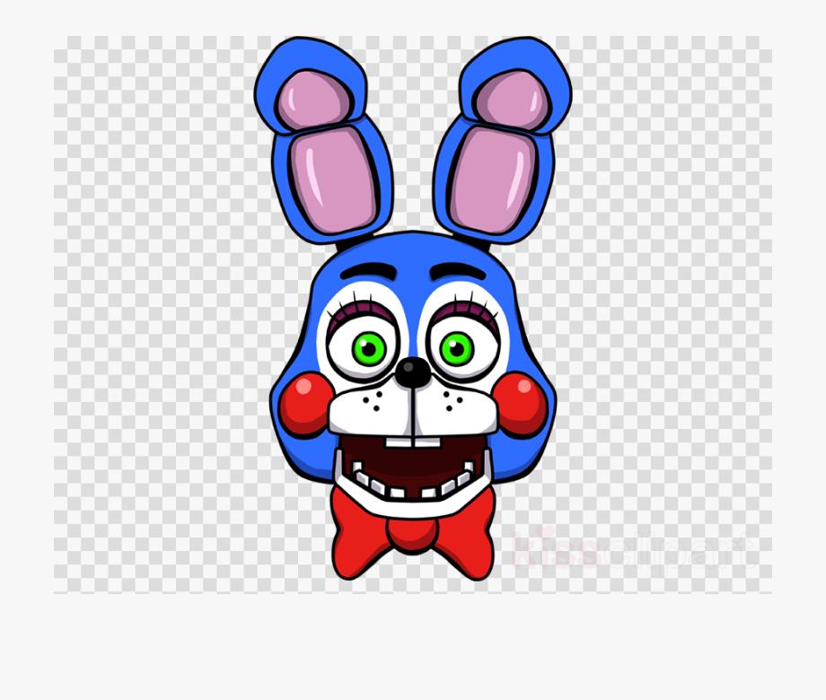 Fnaf Toy Bonnie Head Clipart Five Nights At Freddy\'s.