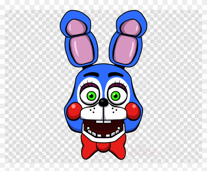 Fnaf Toy Bonnie Head Clipart Five Nights At Freddy's.