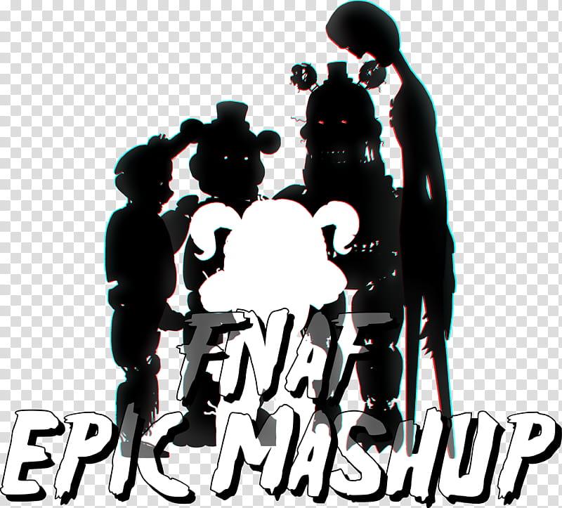 FNAF EPIC MASHUP LOGO transparent background PNG clipart.