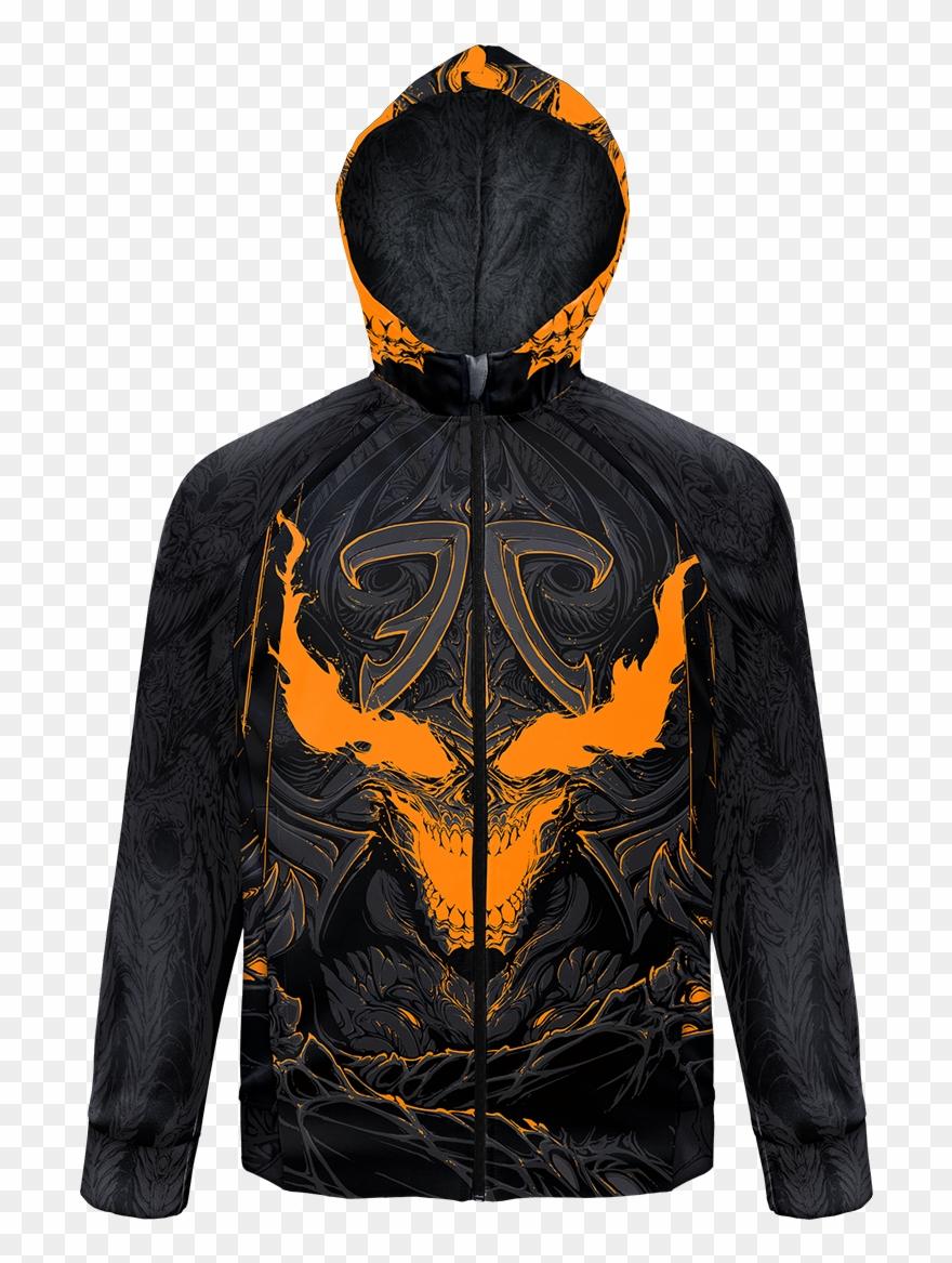Halloween Demon Jacket Shop Front Png Jacket Clipart.