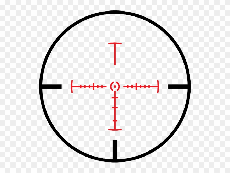Pics For >, Rifle Scope Crosshairs Png.