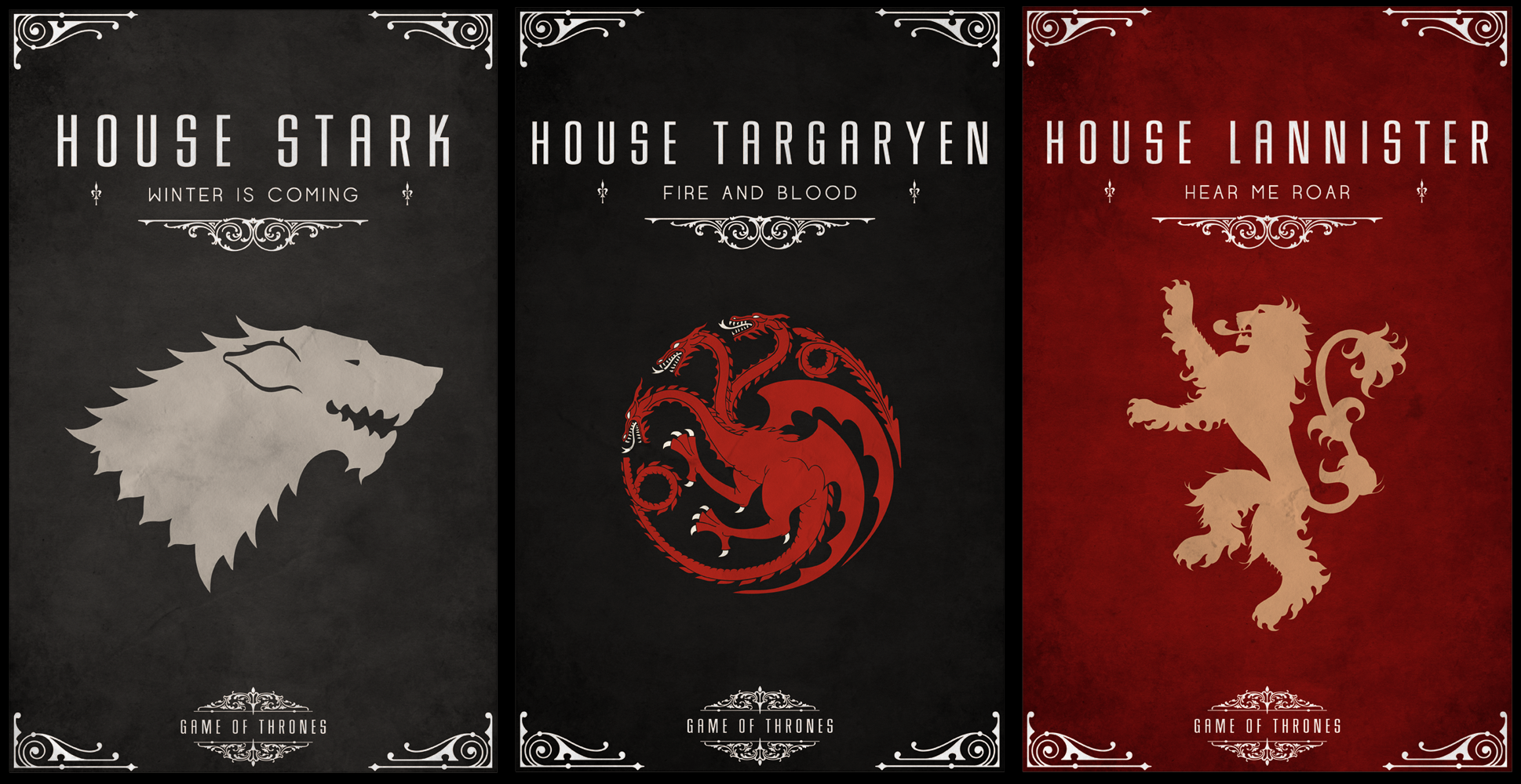 Game fo Thrones Banners.png « MyConfinedSpace.