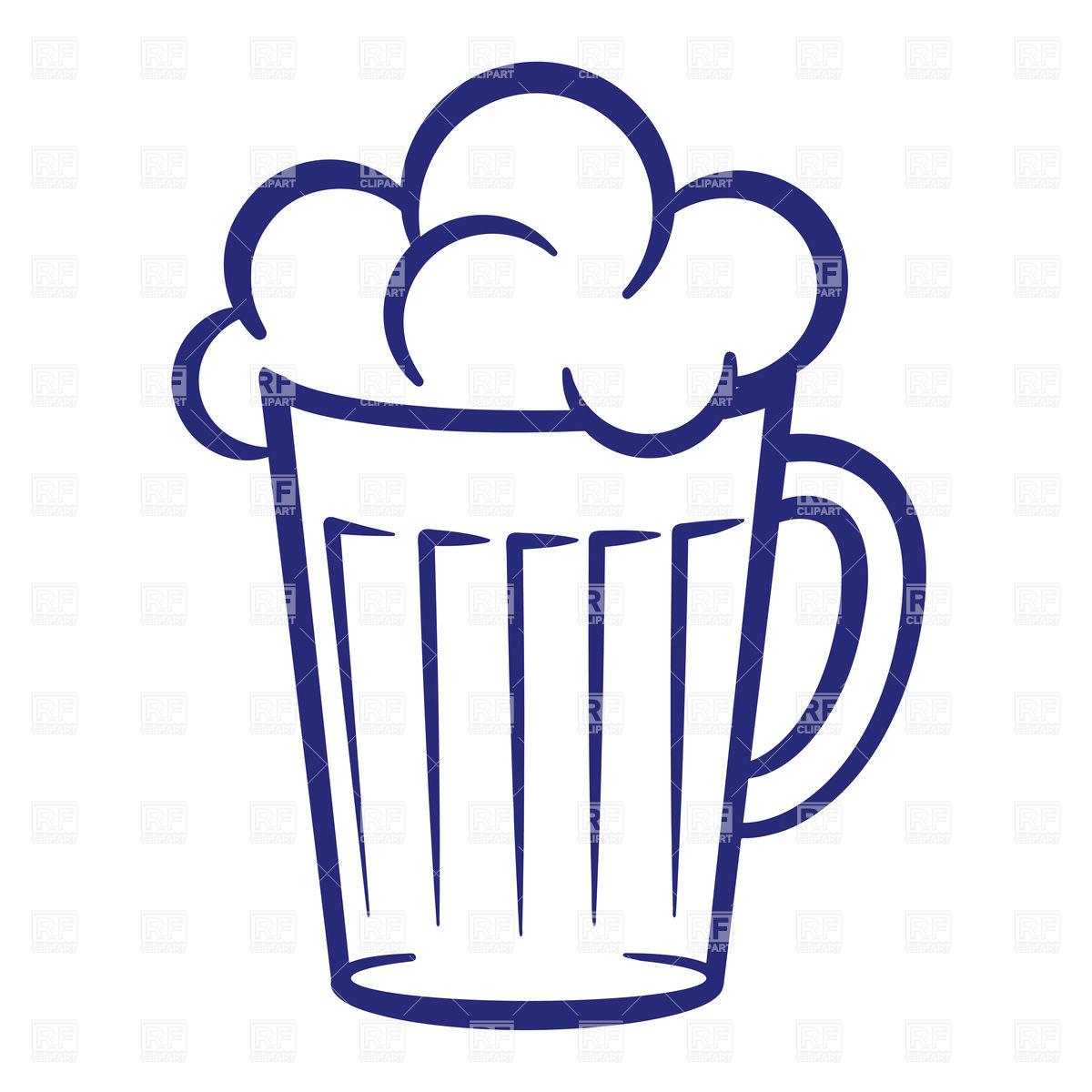 Beer foam clipart.