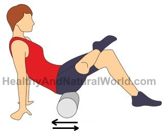 Foam Roller Exercises for Sciatic and Back Pain (Images Included).