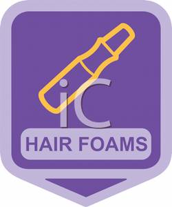 A_Sign_For_Hair_Foams_Royalty_Free_Clipart_Picture_110411.