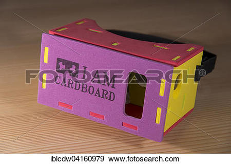 Stock Photograph of I AM CARDBOARD, 45mm focal length, virtual.