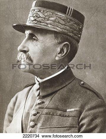 Stock Photo of Ferdinand Foch, 1851 2220734.