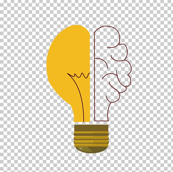 Incandescent Light Bulb Foco Lamp PNG, Clipart, Brain Vector.
