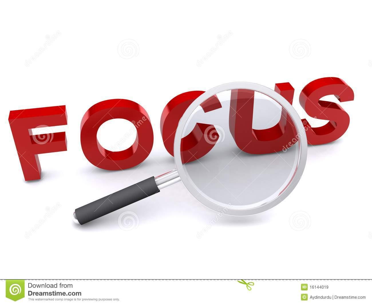 Focus Clipart.