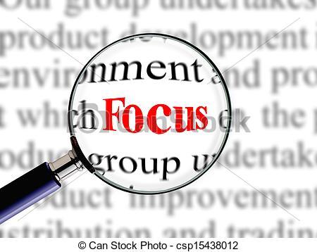 Focus clipart images.