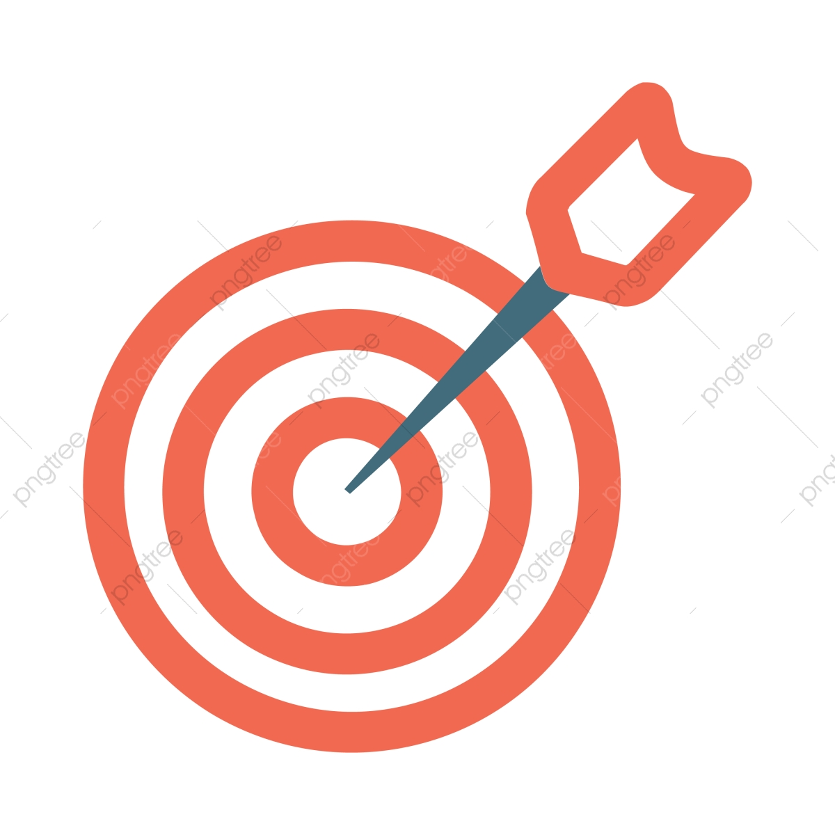 Target Vector Icon, Aim, Archery, Focus PNG and Vector with.