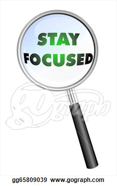 Stay Focused Clipart.
