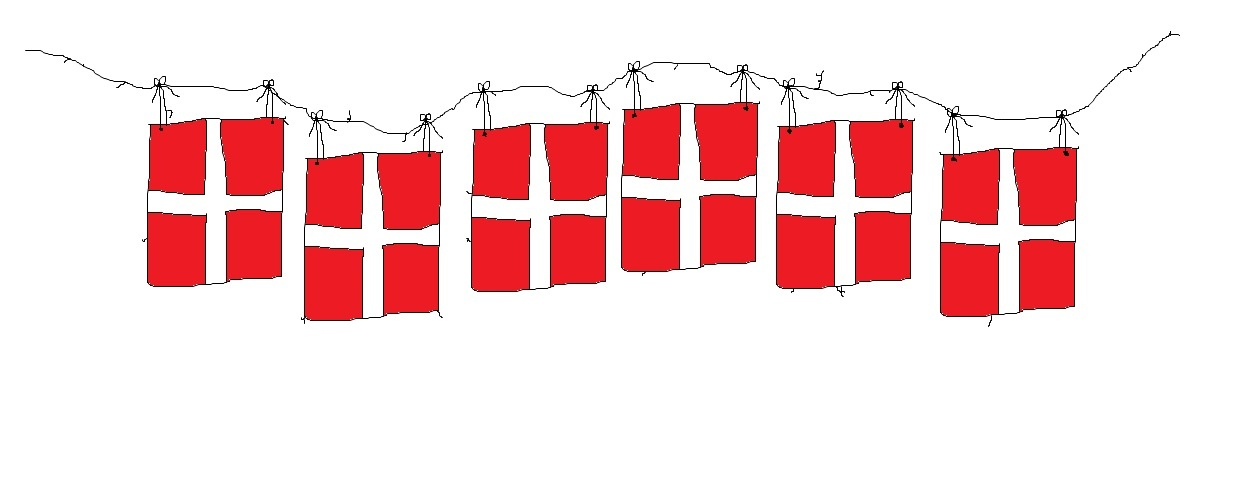 Fodselsdagsflag clipart clipart images gallery for free.