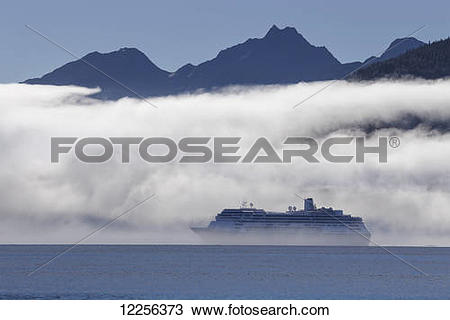 "Stock Photo of ""A cruise ship, the Zaandam (Holland America."