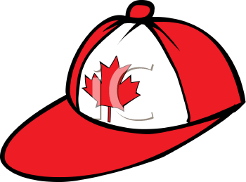 Canadian Maple Leaf on a Ball Cap.