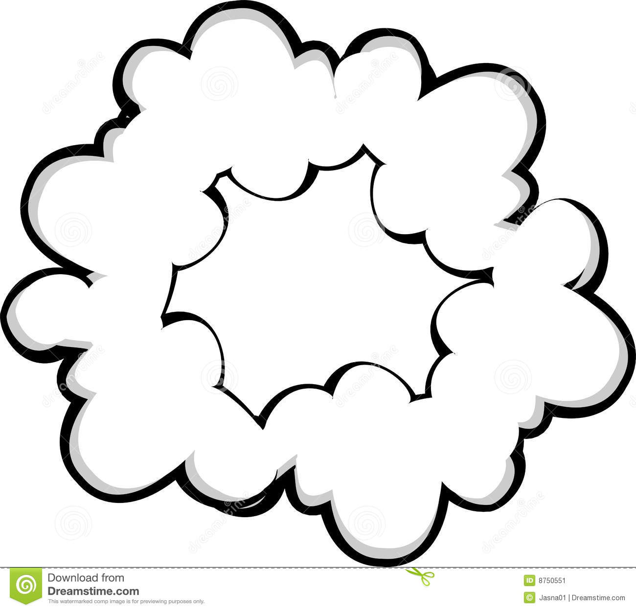 Fog Clouds Clipart.