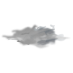 Foggy clipart with no background.