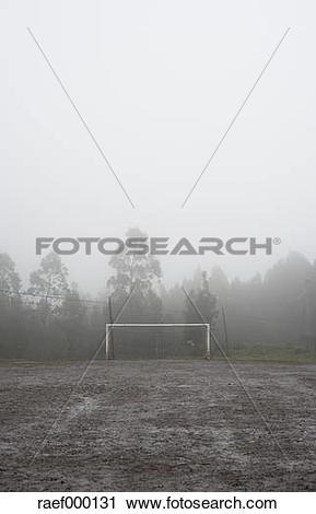 "Stock Photography of ""Spain, Galicia, Valdovino, muddy soccer."