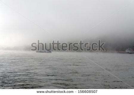 Foggy Day Stock Photos, Royalty.