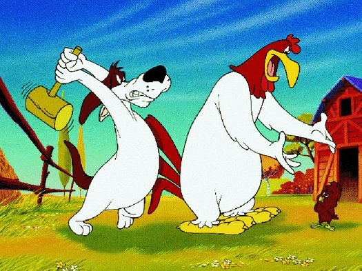 Clipart comics the dog and foghorn.