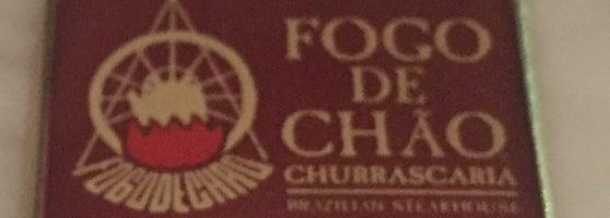 Fogo de Chao Brazilian Steakhouse.
