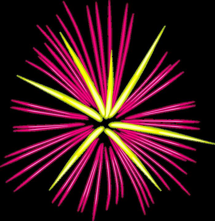 Png Fogos De Artificio New Year Firework Clipart.